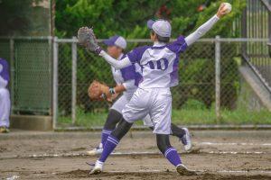 Softball Pitching Practice