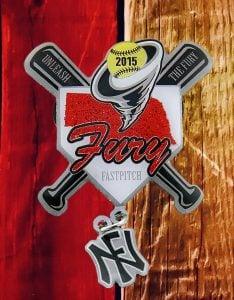 Fury Softball Pin
