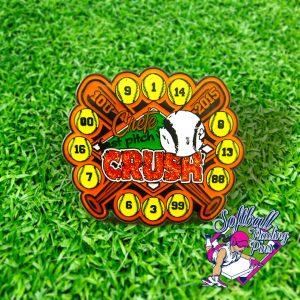 Crush Fastpitch Pin
