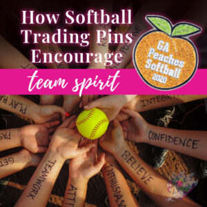 How Softball Trading Pins Encourage Team Spirit